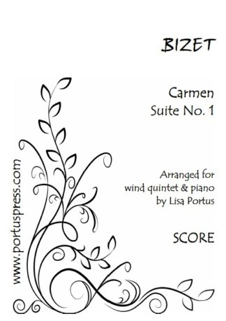 Saint-Saens | Carnival of the Animals | Wind quintet & piano
