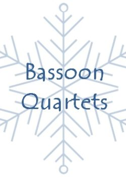 Christmas bassoon quartets