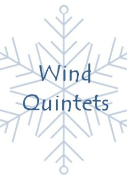 Christmas wind quintets