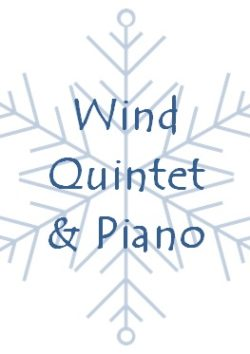 Christmas wind quintet & piano