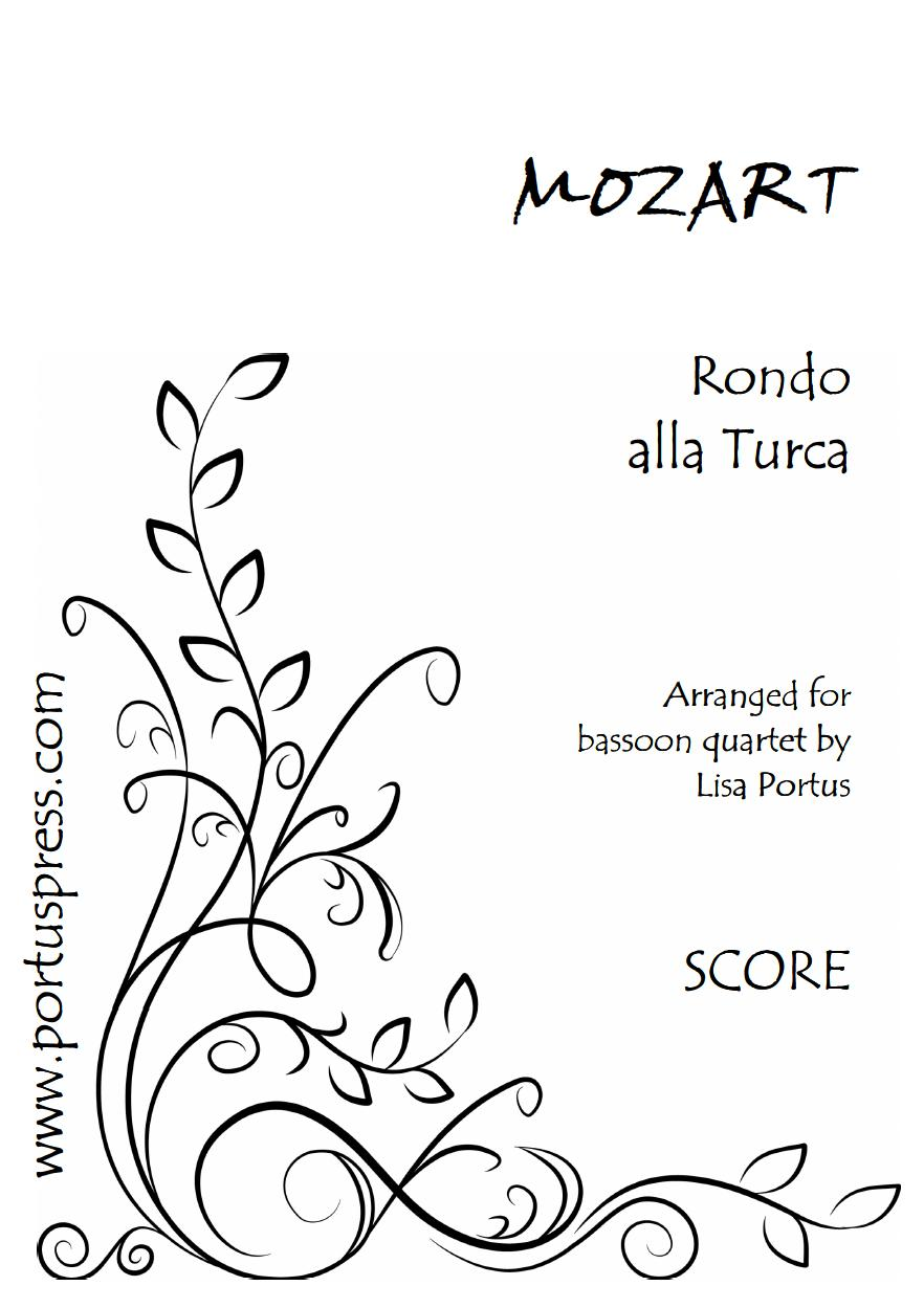 Alla Turca Mozart mozart: rondo alla turca