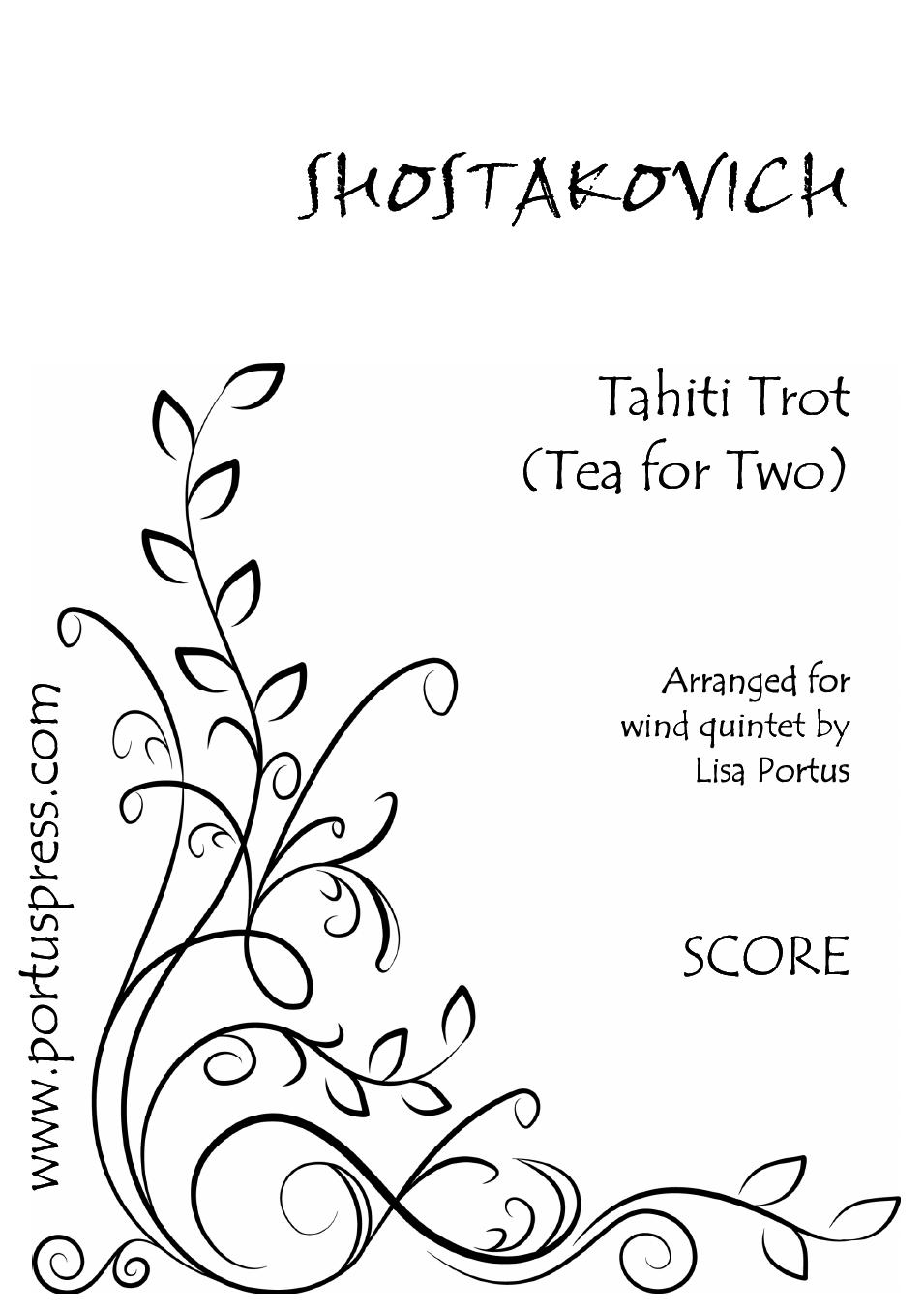 Shostakovich: Tahiti Trot (Tea for Two)