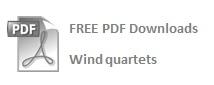 FREE Wind quartet PDFs