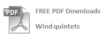 FREE Wind quintet PDFs