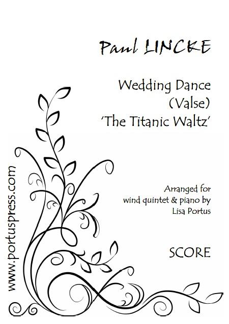 Lincke Wedding Valse Q5p Score Cover